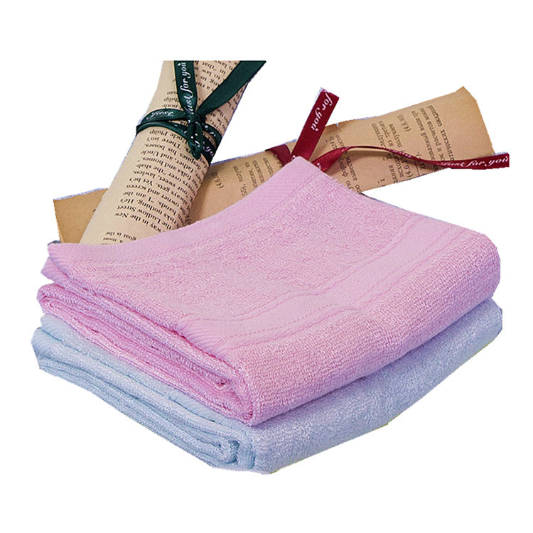 Skin Friendly Super Soft Bamboo Fiber Baby Kids Bath Towel