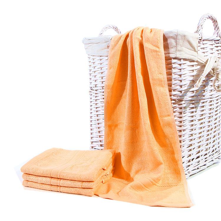 Skin Friendly Super Soft Bamboo Fiber Baby Kids Bath Towel