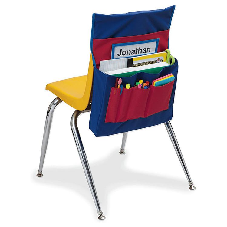Custom Polyester Chair Back Pocket School