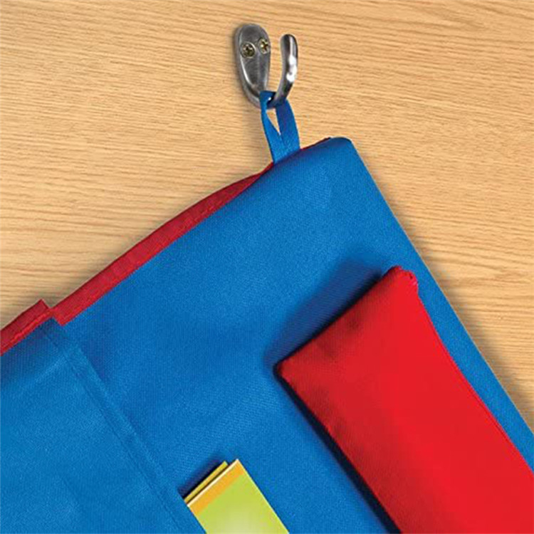Wholesale Custom School Students Packing Oxford Chair Back Pocket