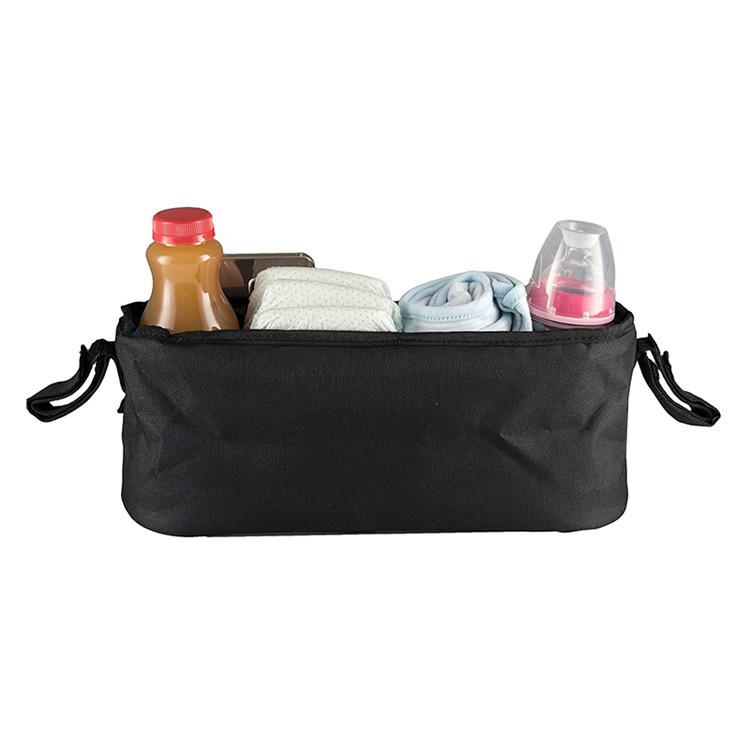 Multifunction black polyester mesh pocket packing