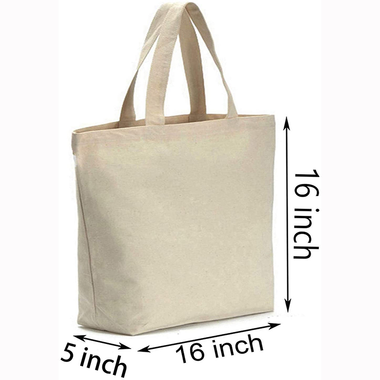 Bottom Heavy 12oz Washable Plain Canvas Packing