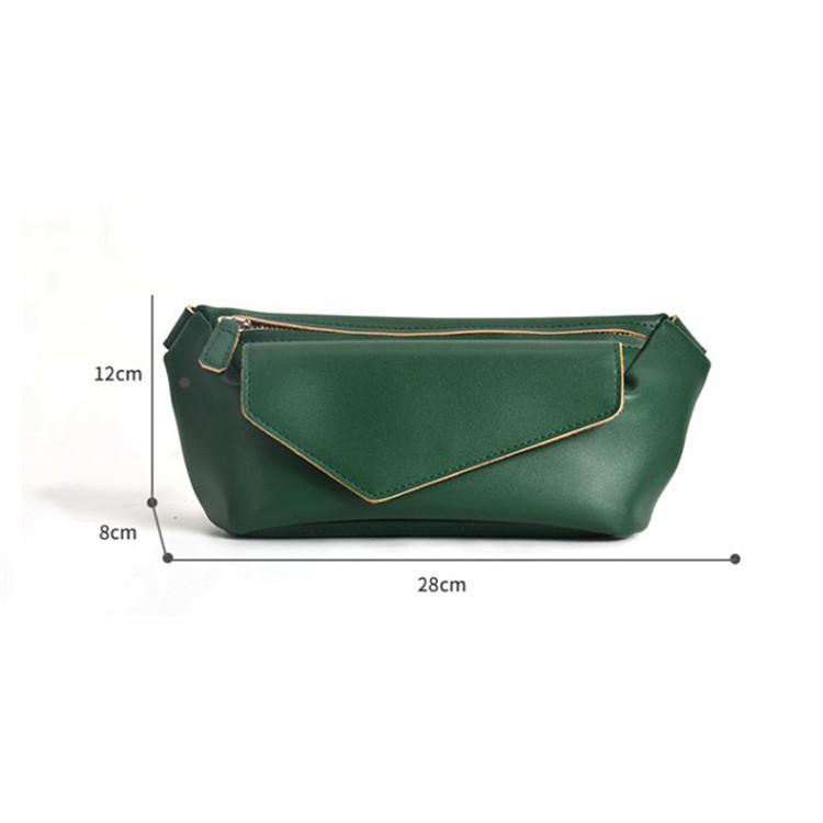 custom fashion PU leather crossbody bag women shoulder bag