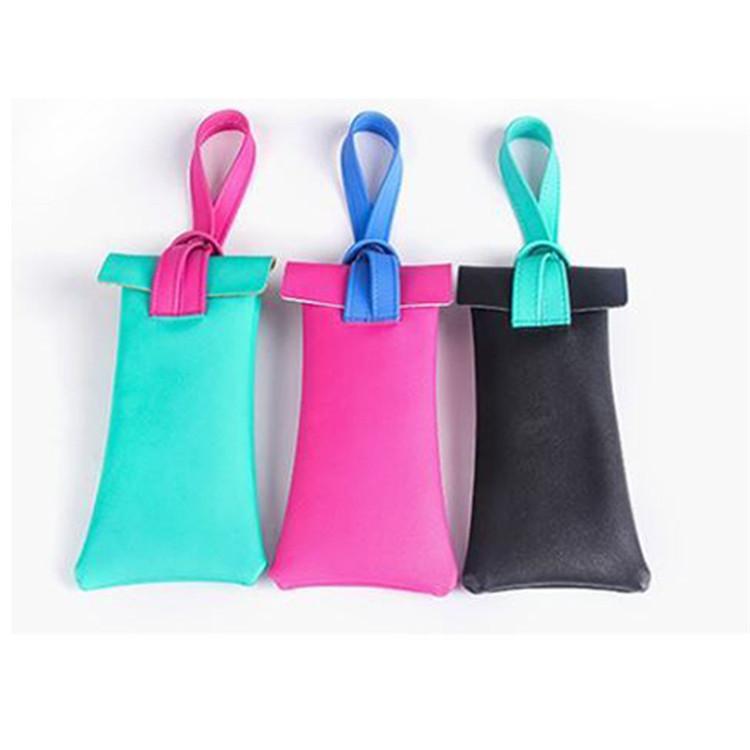 Custom stitching color eyeglasses bag storage glasses pouch bag sunglass