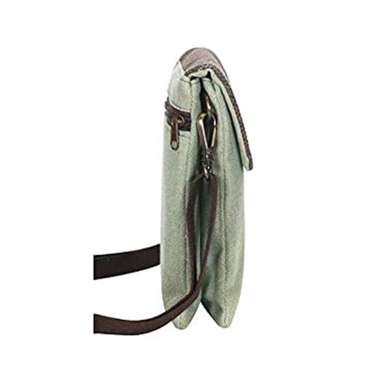 Canvas Crossbady bag Wallet Bag with Shoulder Strap