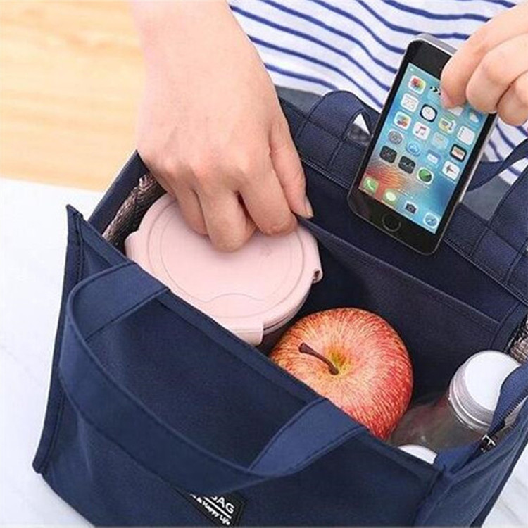 Customizable sublimation reusable gym women luxury boys lunch bag mens