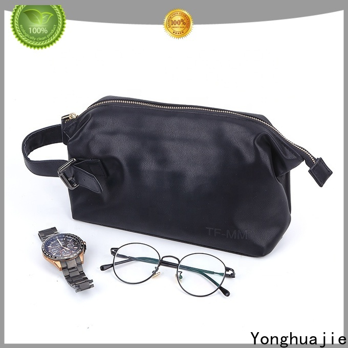 Yonghuajie pu leather leather makeup bag for necklace