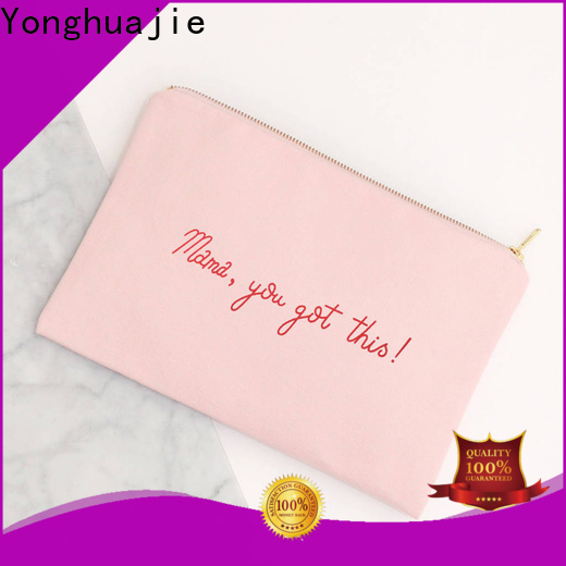 Yonghuajie natural canvas and leather bag factory for travel