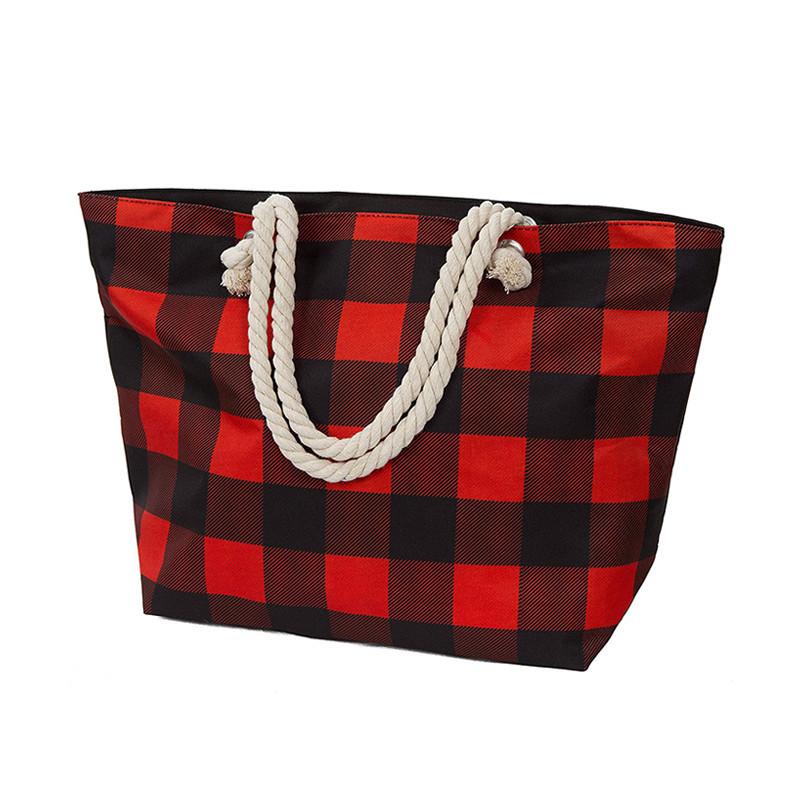 Wholesale custom polyester coloth travel bag tote christmas gift bag