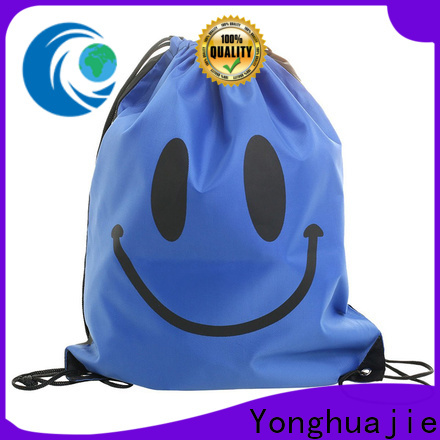 soft 1000d nylon fabric drawstring with zipper for shopping