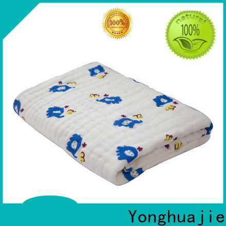 Yonghuajie New bright coloured bath towels manufacturers