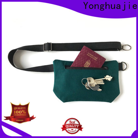 Yonghuajie High-quality canvas leather bag Suppliers for cosmetic
