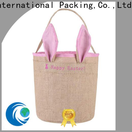 Yonghuajie Custom jute sack jute shopping bag company for packing