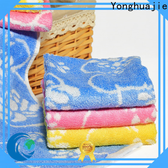 Yonghuajie black friday bath towels factory