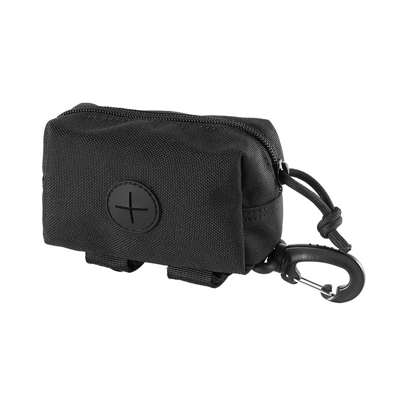 Custom Black Polyester Waste Bag Holders Dog Poop Bag Dispensers With Wholesale Price