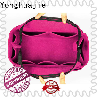 Yonghuajie small felt organizer Supply for gift packing