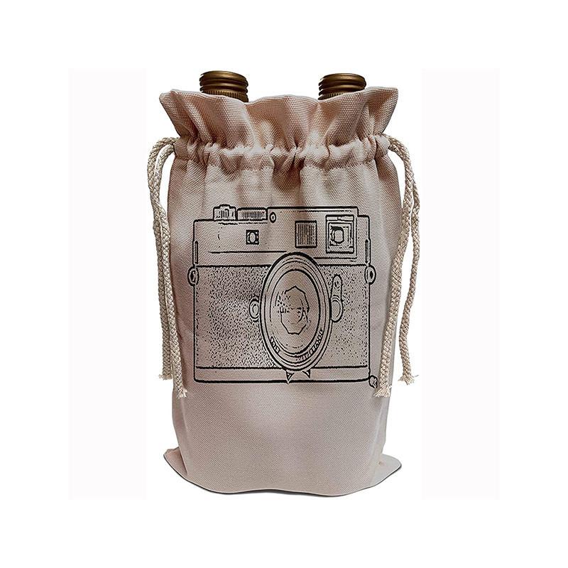 Drawstring wine bag