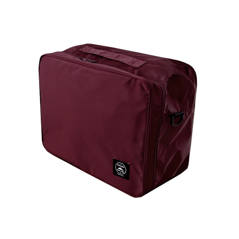 Custom Polyester Storage Handle Travel Duffel Bags Packing Cube Match Suitcase