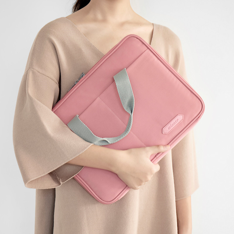 Wholesale Waterproof Women Laptop Tote Bags Polyester Computer Bag Tote Bag