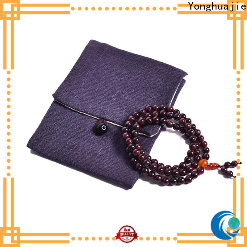 Yonghuajie grosgrain cotton jute bags manufacturers for friends