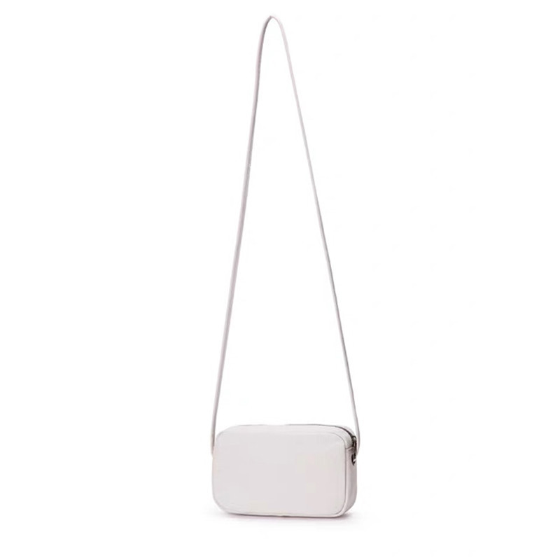 Custom Small Plain Canvas Crossbody Bag with Zipper Wholesale