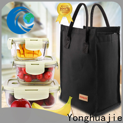 Yonghuajie Wholesale microfiber vs polyester with handle for shoes