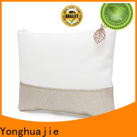 Yonghuajie makeup bag with strap factory for shaving kit