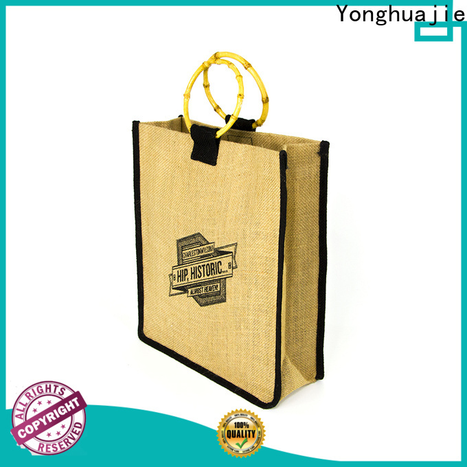 Yonghuajie high-quality jute shopping factory for storage