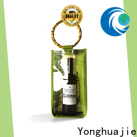Yonghuajie Best natural cotton bags high quality for wine