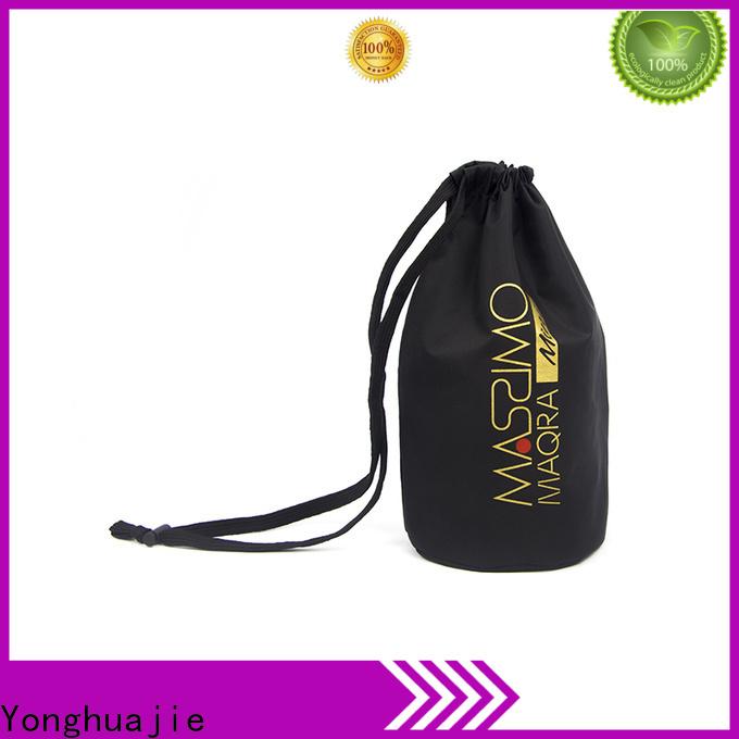 Yonghuajie round bottom nylon vs polyester backpack factory