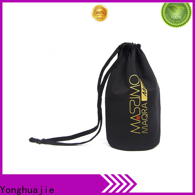 Yonghuajie round bottom nylon vs polyester backpack factory