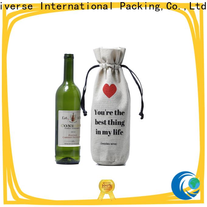 Yonghuajie Custom burlap bags wholesale top-selling for friends