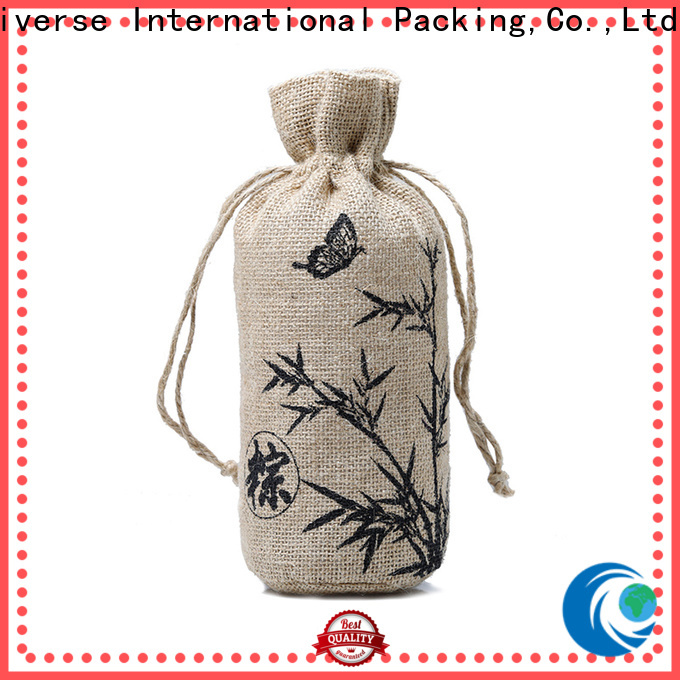 Best burlap tote bags wholesale drawstring high quality for packing