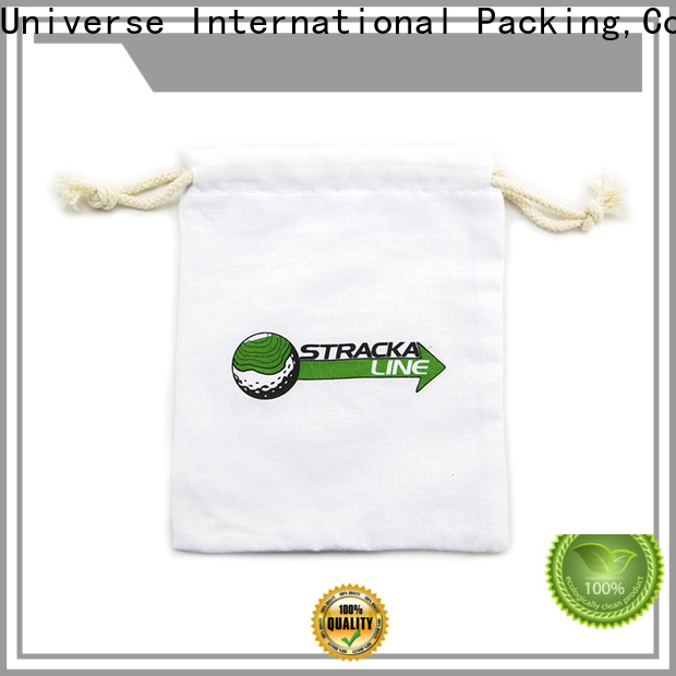 digital canvas drawstring bags with power bank for packing