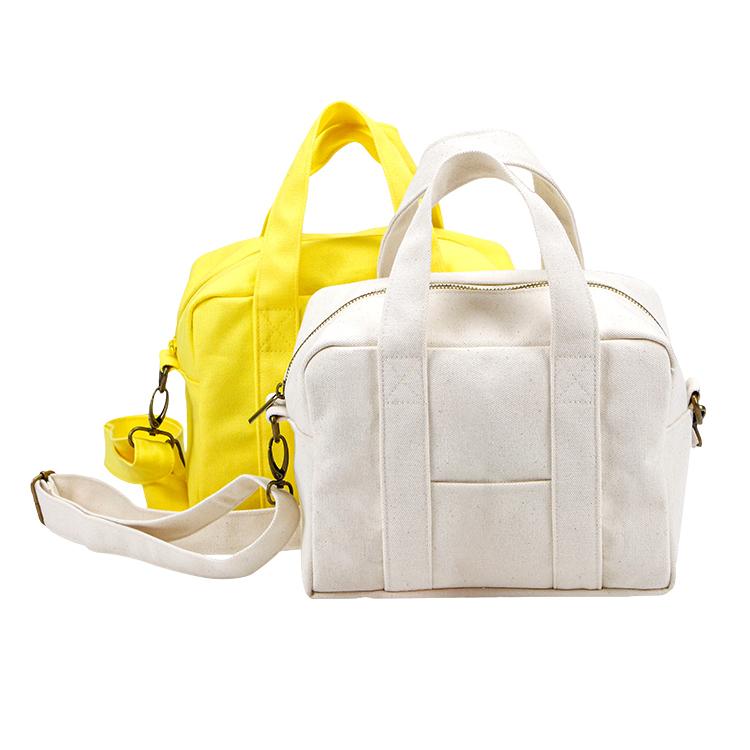 Canvas tote small travel bag crossbody bag