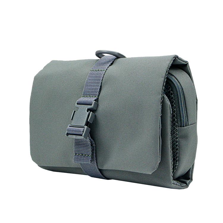Travel organizer bag roll up toiletry bag