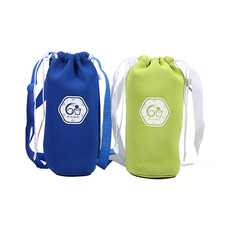 Drawstring bottle neoprene bag