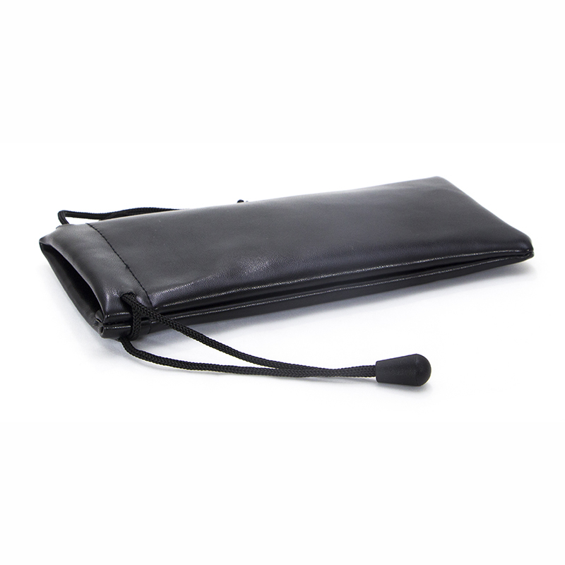 PU leather glasses bag