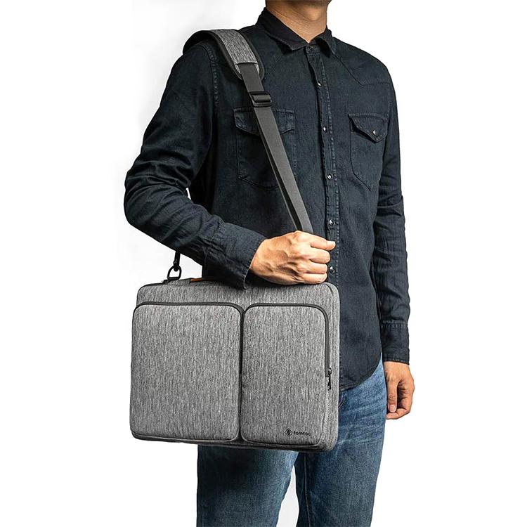 Custom polyester crossbody bag men computer bag
