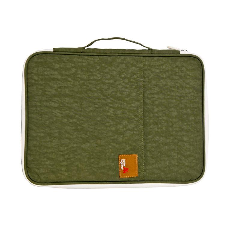 Wholesale A4 nylon laptop bag document zipper bag