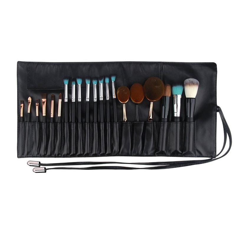 PU roll up bag for makeup brush