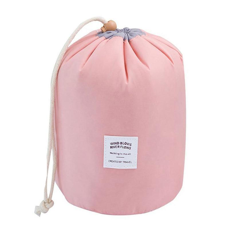 Nylon cosmetic bag drawstring