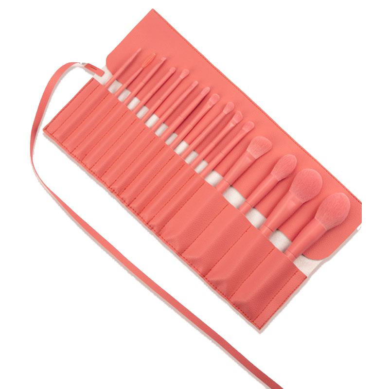 Custom cosmetic tools bag makeup brush bag roll up