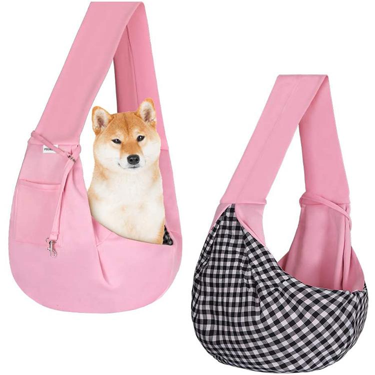 Wholesale custom animals outdoor travel dog carrier sling bag portable shoulder carrier pet bags