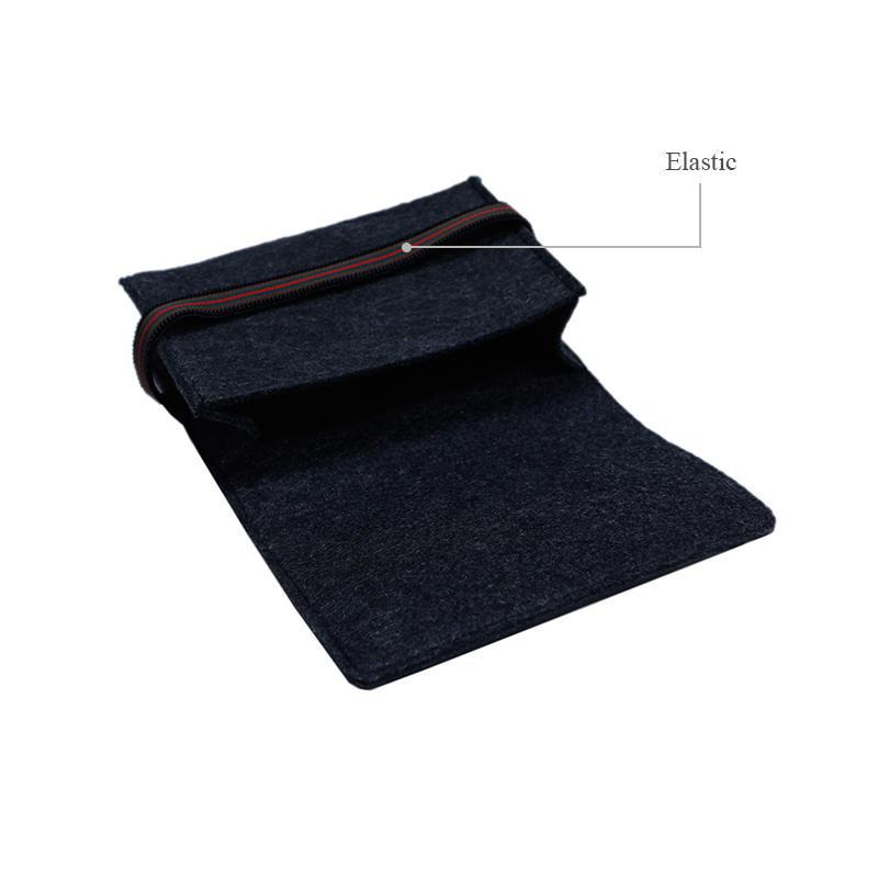 Yonghuajie on sale felt pouch felt storage bag felt shopping bag felt jewelry bag embroidered for storage-3