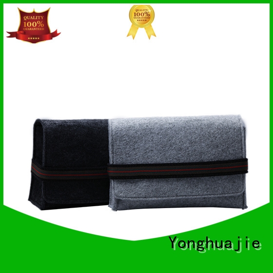 durable flap felt tote bag customized Yonghuajie company