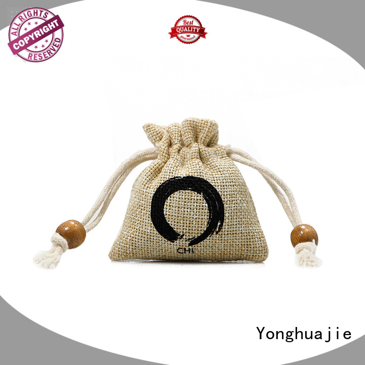 tote Custom jute jute sack                                                                                                                                                                                               jute shopping bag natural Yonghuajie
