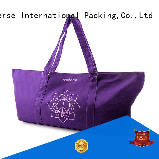 tassel plain canvas bag for packaging Yonghuajie