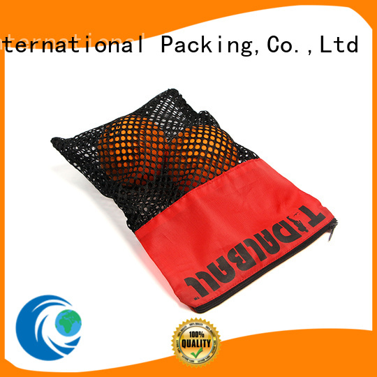 high quality mesh beach bag for jewelry