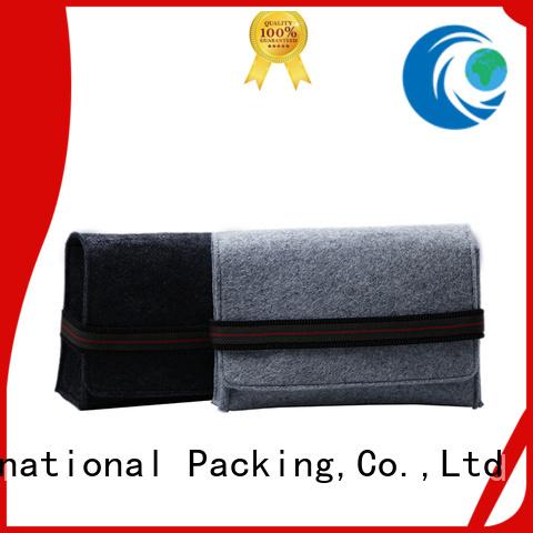 flap felt felt tote bag embroidered Yonghuajie Brand company